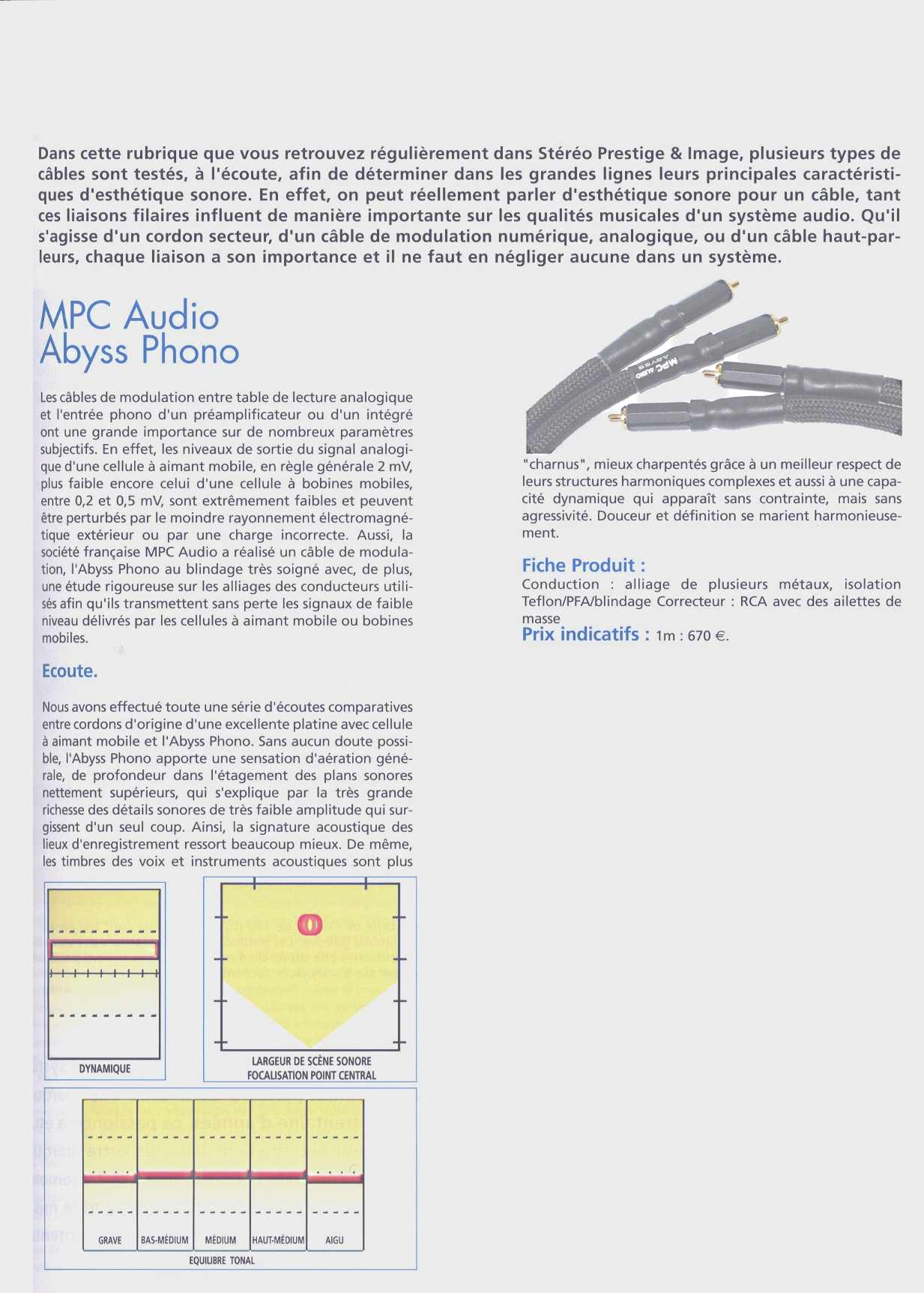2010 - Test Modulation Abyss Phono Stereo Prestige Octobre 2010