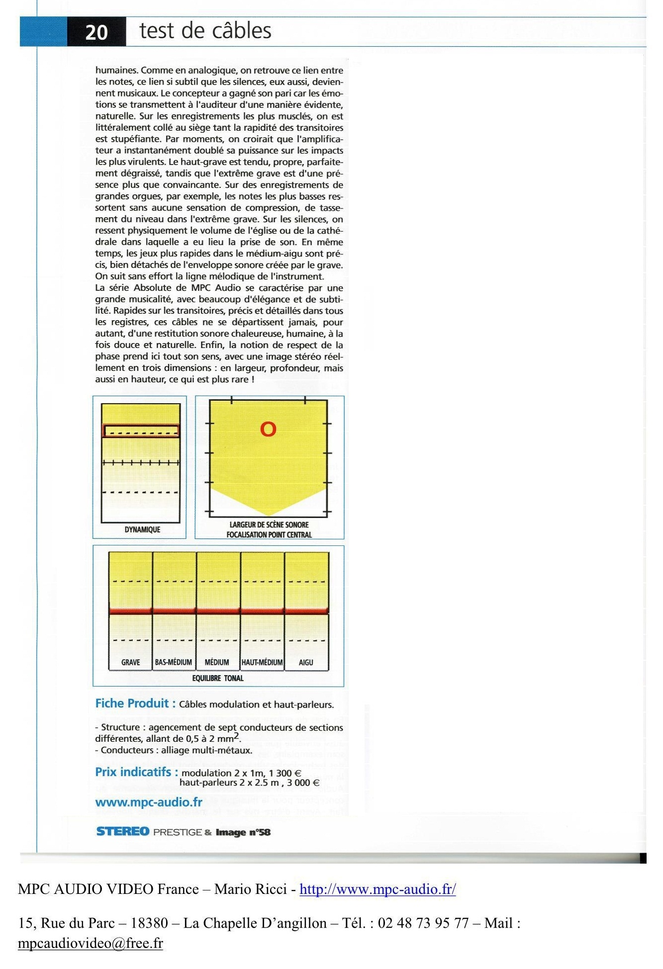 2011 - Test Absolute HP et Modulation Stereo Prestige Juillet Aout 2011 2 sur 2